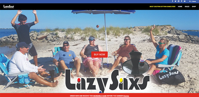 WebsiteDesktop_LazySaxs